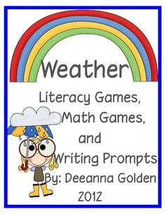 Weather Literacy and Math Games
