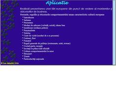 Profu`economist: Aplicaţie - MANIERE ŞI OBICEIURI DE BUSINESS Boarding Pass, Business, School, Store, Business Illustration