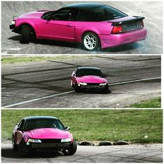 Dialing it in....... #angle #drift #volk #rays #pink #mustang #sn95 #mustangfanclub #hellaflush #swag #vapelife #bruh #midwestdriftunion  #finally by sevensixracing