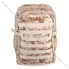 84662f7a7cd5 Marine Corps MOLLE Backpack  Digital Desert Camouflage Molle Backpack