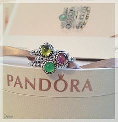 #MyPandora  Went Pandora Shopping today and got 2 rings and 1 free with Ring box.  Ring promo here in the UK