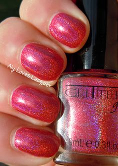 Glitter Gal Not Another Red