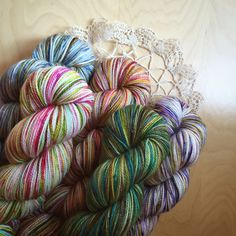 "Three Month Sock Yarn Club / ""Just the Yarn"" Sock Edition - Phydeaux Designs & Fiber"