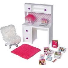 "NIB My Life As Desk & Chair Doll Furniture Fits 18"" American Girl Our Generation"