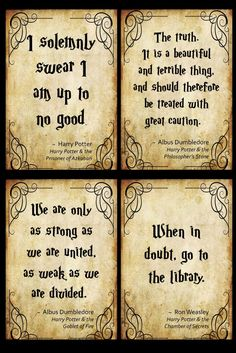 Welcome your students into the world of magic with these posters of inspiring quotes from Harry Potter! Harry Potter Stone, Harry Potter Book Quotes, Theme Harry Potter, Harry Potter Spells, Harry Potter Drawings, Harry Potter Room, Harry Potter Pictures, Harry Potter Aesthetic, Harry Potter Birthday