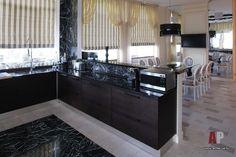 кухня - столовая венге с камином - Поиск в Google