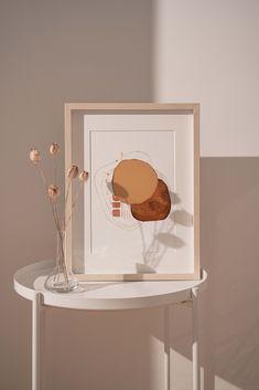Minimalist Room, Minimalist Home Interior, Minimalist Lifestyle, Brown Aesthetic, Pink Aesthetic, Living Room Art, Living Room Modern, Minimal Decor, Modern Decor