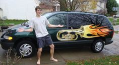 Tubas are why we can't have nice things! And this is my future van but Jupiter contra