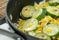 Tops Friendly Markets - Recipe: Cheesy Zucchini Corn Stir Fry