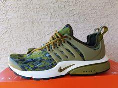 Nike Women s Air Presto GPX Army Green Camo 844891-300 Sample Size XS (US  6-7) b28454db8b