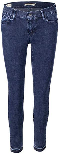 Jeans  Bekleidung, Damen, Jeanshosen Levis, Vogue Paris, Super Skinny, Trends, Skiing, Dark Blue, Skinny Jeans, Blog, Pants