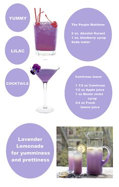 Purple party drinks... @Sara Eriksson Eriksson Eriksson Miles .... PanCan bunco ideas? :)