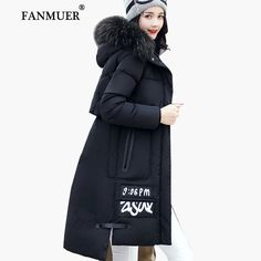 Fanmuer 2017 Winter jacket women fur winter coat hooded womens clothing jackets long woman cotton parka jaqueta feminina invern-in Parkas from Women's Clothing & Accessories on Aliexpress.com | Alibaba Group