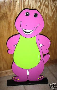 Barney stand up Birthday party decorations supplies