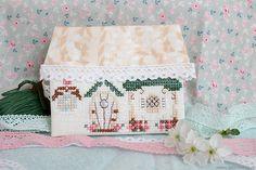 Creation Point de Croix, Домик-игольница, the house - needle bar, вышивка крестом, cross-stitching