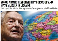 JEW-NAZI TRAITOR PIGS (jntp's)  the ROTSCHILDS send  their JEW-NAZI ERRAND BOY   GEORGE SOROS to DEMAND  that EUROPE  absorb   the MILLI...