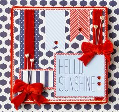 "DCWV Diary: ""Hello Sunshine"" Keepsake"