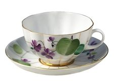 Show details for Forest Violet Tea Cup & Saucer