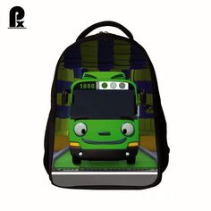 Find More School Bags Information about 2016 new arrival tayo bus school bag child backpack cute cartoon…