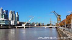Ponte da Mulher - Porto Madero / Buenos Aires - Maio 2015