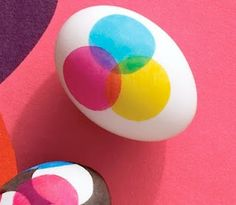 cmyk easter eggs. More art geek eggs :)