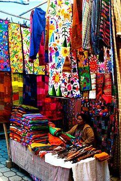 Chichicastenango, Mayan market