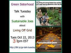 ▶ Sustainable Joes' Interview with Stephen Szucs. Making Green Mainstream - YouTube
