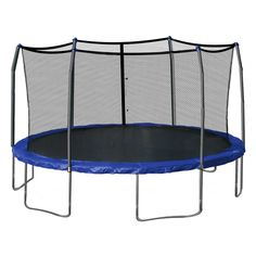 Symple Stuff 17' x 15' Oval Trampoline with Safety Enclosure & Reviews | Wayfair