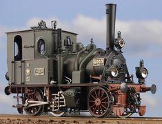 Micro Metakit 10101H - K.P.E.V. Prussian T 0 Tank Locomotive Green Livery