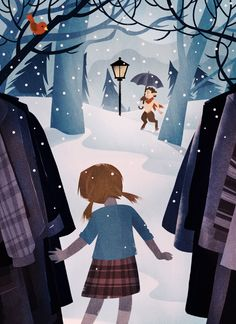 Narnia illustration by Martin Wickstrom