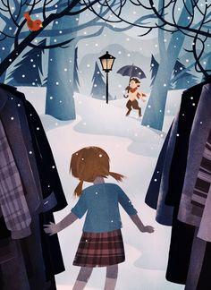 Narnia illustration by Martin Wickstrom