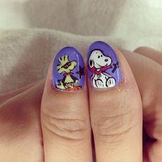 halloween by quieyelashnail  #nail #nails #nailart