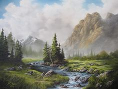 Risultati immagini per kevin hill paintings Watercolor Landscape, Landscape Art, Landscape Paintings, Landscape Photography, Watercolor Paintings, Mountain Landscape Drawing, Kevin Hill Paintings, Bob Ross Paintings, Pictures To Paint