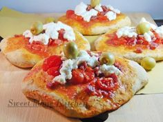 Pizzette rustiche integrali  #ricette #food #recipes
