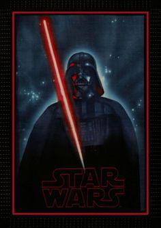 Darth Vader No-Sew Fleece Throw