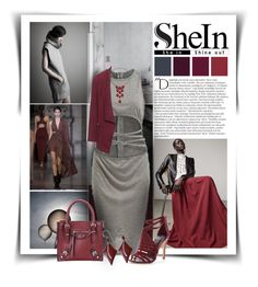 """""""SheIn"""" by diva1023 ❤ liked on Polyvore featuring Balmain, Andrew Martin, Hellessy, Yiqing Yin, Manon Baptiste, Belk Silverworks and Lipsy"""
