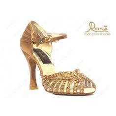 Flexi Line 5 - Mujer  Sandalias de salsa fabricadas en raso italiano y piedras de cristal. Se fabrican en dos colores y todas llevan el tacón forrado del mismo material. Todas las sandalias llevan dos capas de latex en la planta, para amortiguar la pisada. #shoes #dance #calzado #calzadodeportivo #cucumpa #valencia #hombre #mujer #baile #salsa #latino http://bit.ly/FlexiLine5