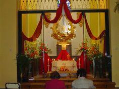 El Rincón Cofrade: Almuñecar. Hora Santa ante el Monumento.