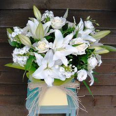 """""""White elegance"""" bouquet from www.thepetalboutique.co.uk"""