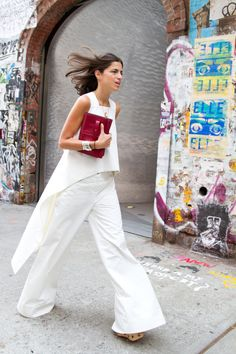#LeandraMedine #ManRepeller #streetstyle #fashion #style #inspiration #chic #lookbook #outfits #celebstyle #blogger