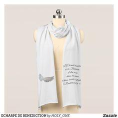 ECHARPE DE BENEDICTION SCARF | Zazzle.com