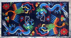 TIBETIAN PHENIOUX CARPETS | Dragon Phoenix Carpet - Dharmashop.com