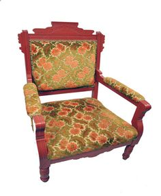 RePurpose Shop — RePurposed Eastlake Tapestry Chair