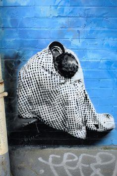 Vitry-sur-Seine - av André Maginot - street art - indigo