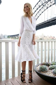 White Lace Skirt Archives - Repeat Offender