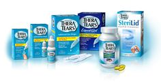 Thera Tears, Lubricant Eye Drops - This is my favorite eye drop of all time.