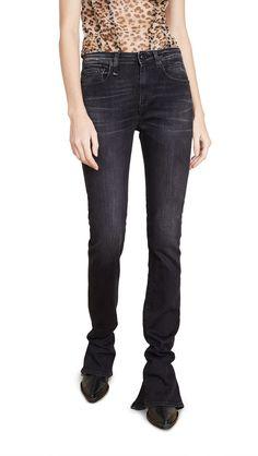 jeans, black and white, billie eilish, denim, half and half, black, white, black jeans, white jeans, black and white jeans - Wheretoget Buy Jeans, Slim Jeans, Jeans Pants, Skinny Jeans, Black And White Jeans, Black Pants, Stretch Denim, Attitude, Billie Eilish