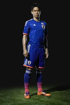 Shinji Kagawa and #Japan are ready for Brasil. The new @adidas Japan 2014 Home Jersey is in stock now.