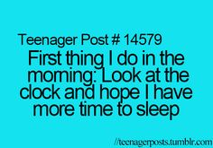 """Not sure why these are """"teenager posts"""". Other than I've been doing this since I was a teen."""