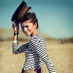 Zendaya Covers Teen Vogue, Explains Why She Has No Desire to Ditch Disney.Yet Zendaya Coleman Zendaya Coleman, Vogue Covers, Teen Vogue, Celebrity Gossip, Celebrity Style, Teen Issues, Zendaya Style, Military Girl, Military Style